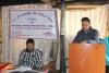 कार्यक्रममा स्वागत मन्तव्य दिँदै ना.सु. कृष्ण प्रसाद तिमिल्सिना